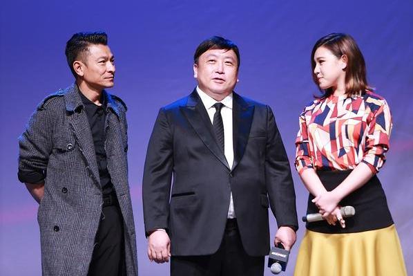 劉德華(左)無懼「賭城風雲3」遭惡評,與王晶(中)再合作。圖/摘自騰訊娛樂