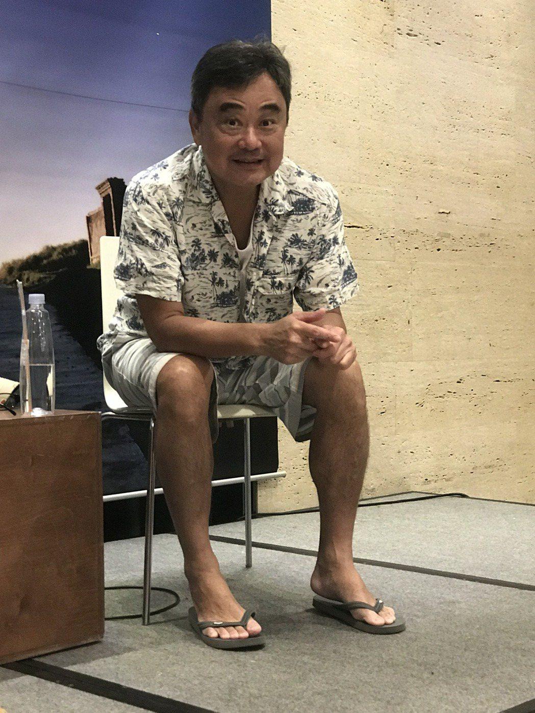 陳昇新書發表會,談笑風生,趣事連連。記者陳于嬙/攝影