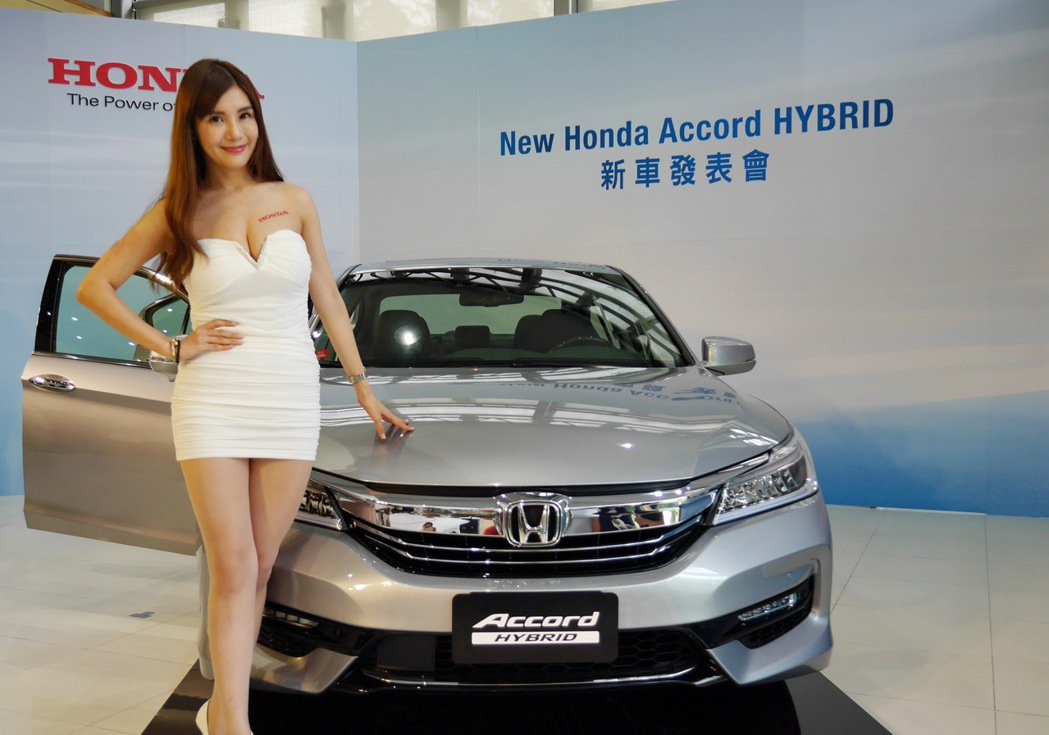 Honda Taiwan引進全新Honda Accord Hybrid。記者陳威...