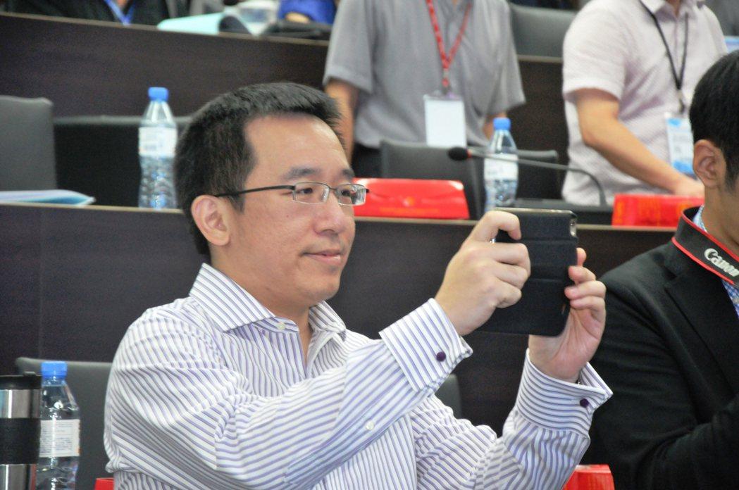 陳水扁的兒子陳致中。 本報系資料照