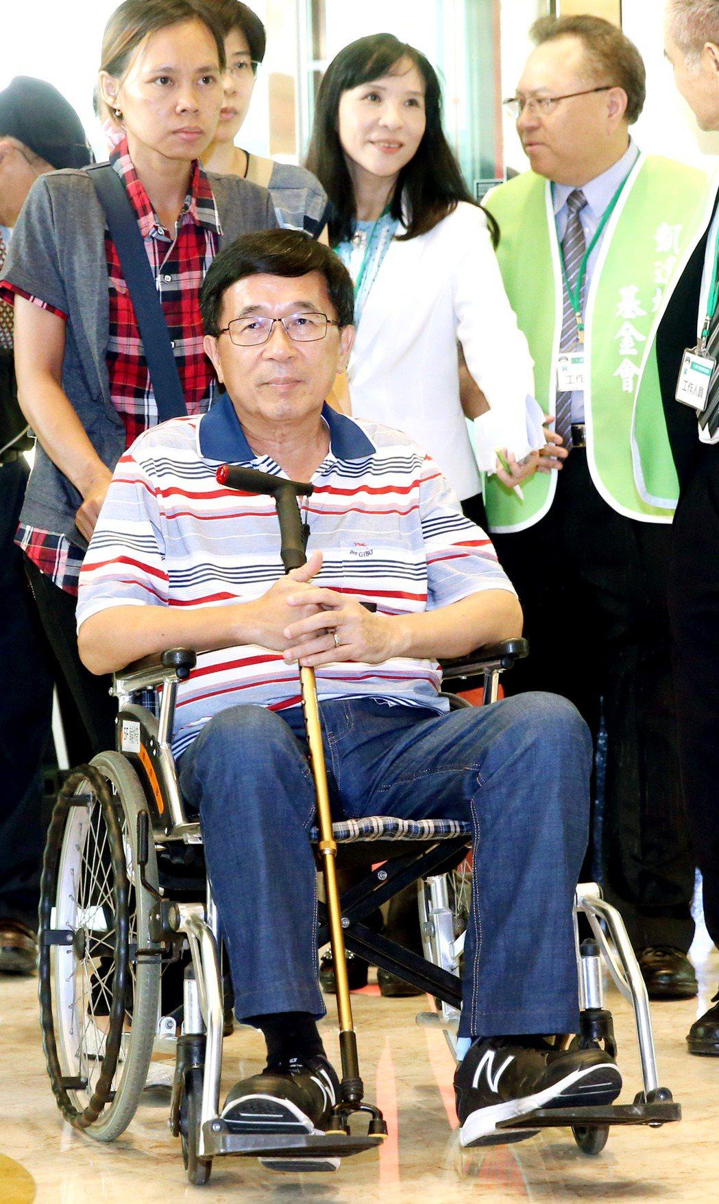 前總統陳水扁。 本報系資料照