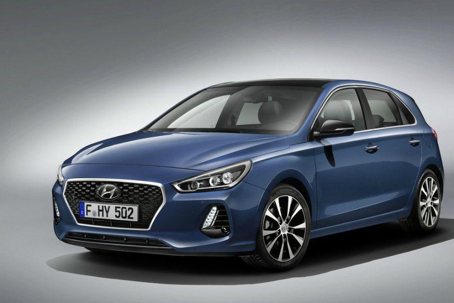 Hyundai 正式於巴黎車展發表旗下 i30 五門掀背車款 i30。 摘自 H...