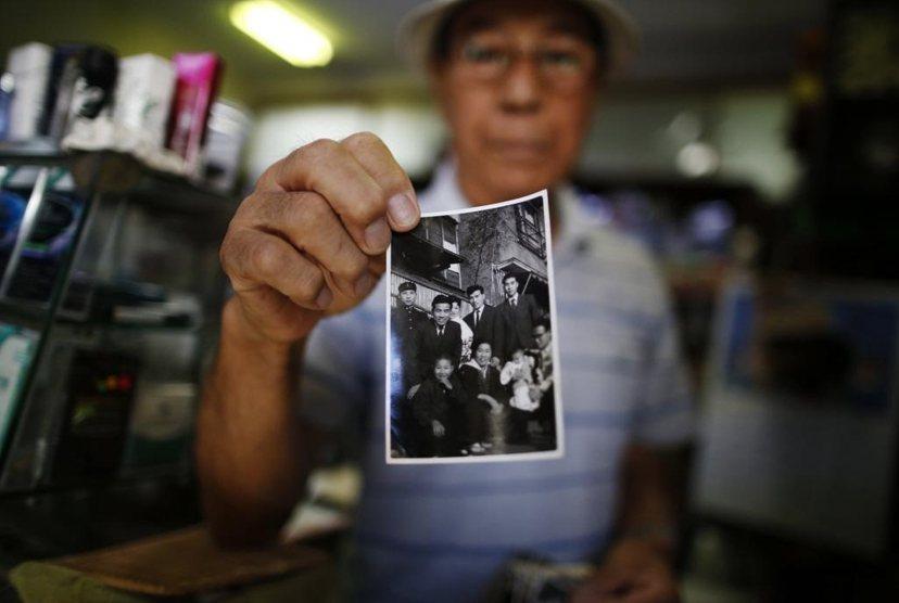 今年79歲的甚野公平,由於場館預備用地座落於其住宅附近,被政府要求遷居。這是他人...