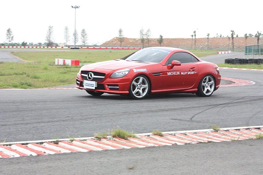 Pilot Sport 4賽道測試。 記者林和謙/攝影