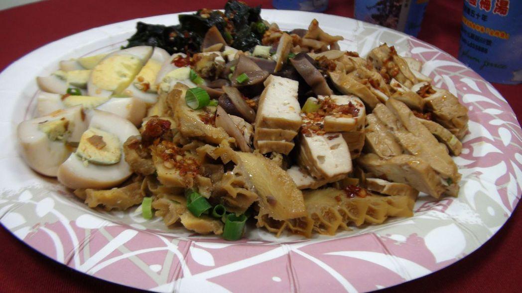 中興新村麵食選擇多,每家店特色不同,各有擁護者。記者王慧瑛/攝影