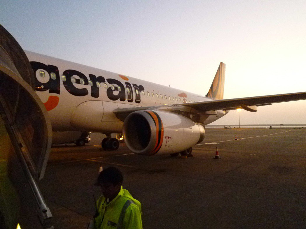 國內廉價航空龍頭台灣虎航決定明年初進行航線大調整。 記者楊文琪/攝影