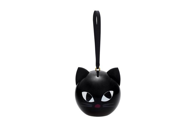 俏皮黑貓晚宴包,16800元。圖/LULU GUINNESS提供