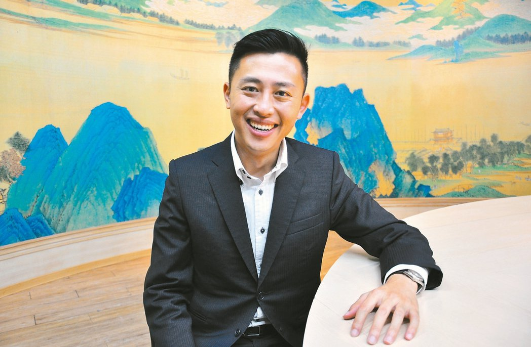 新任市長林智堅。 記者李青霖/攝影