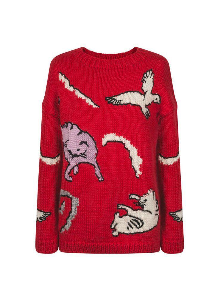 貓咪毛衣,35,800元。圖/Paul & Joe提供