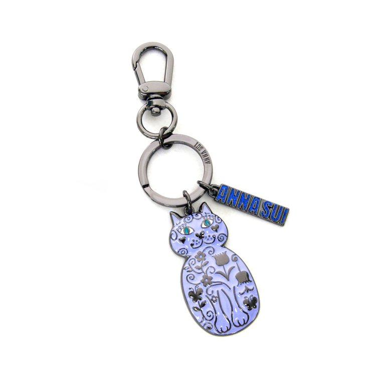 紫貓鑰匙圈,1780元。圖/ANNA SUI提供