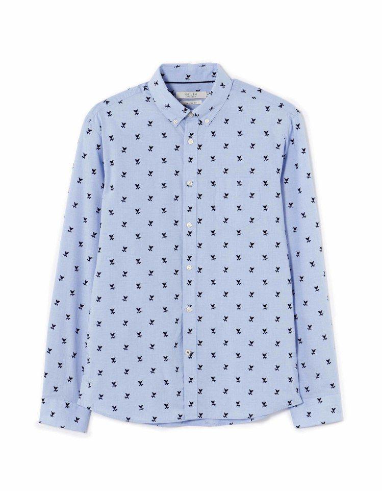 celio鬱金香花朵襯衫,3,280元。圖/celio提供