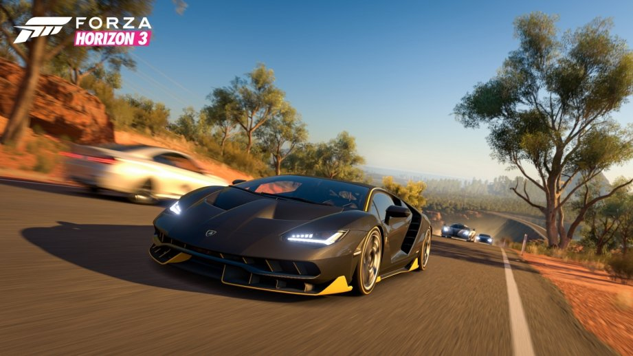 《極限競速:地平線3》中文版遊戲畫面圖/微軟提供