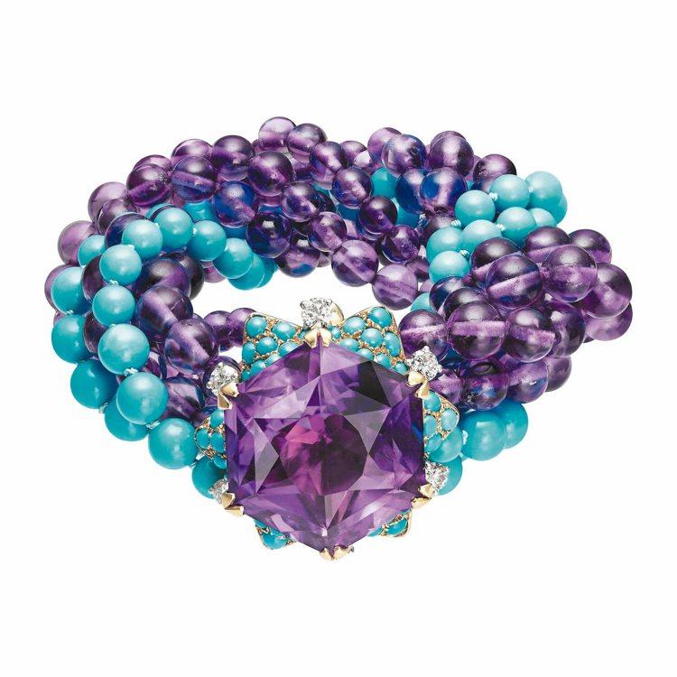 STAR BRACELET星光手環,1954年,曾為溫莎公爵夫人擁有。 圖/卡地...