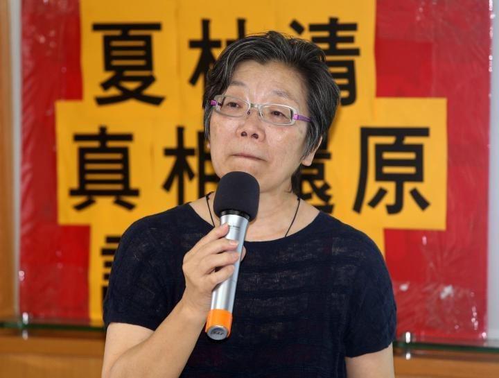 前輔大社科院長夏林清。 圖/聯合報系資料照