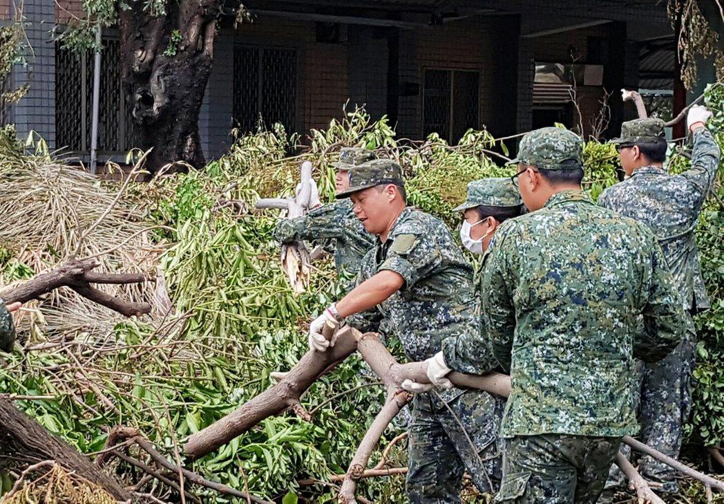【即時短評】國防部支援地方救災 須堅持使用者付費