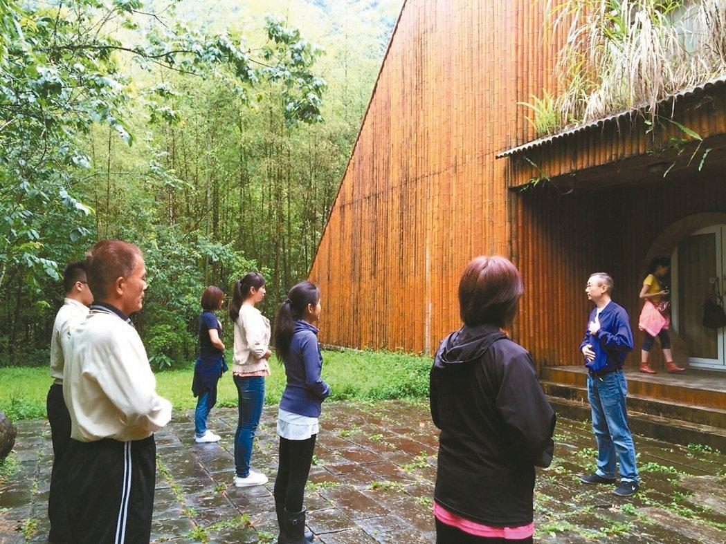最佳的森林療癒方式,是在良好的森林環境內至少住3天。 圖/台大實驗林提供