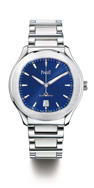 具有紐約都會風格的Polo S腕表,建議售價35.2萬元。 Piaget/提供