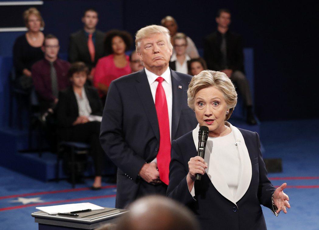 困獸之鬥,贏不了但也打不垮的川普:美國總統大選,辯論第二戰。 圖/美聯社