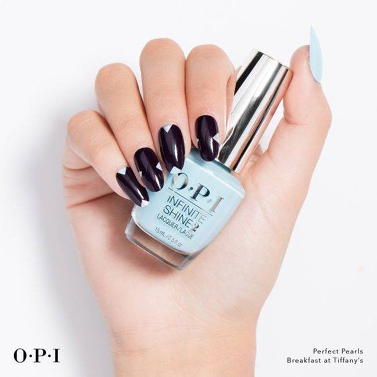 O.P.I全新指彩「第凡內假期」。圖/摘自OPI Taiwan臉書