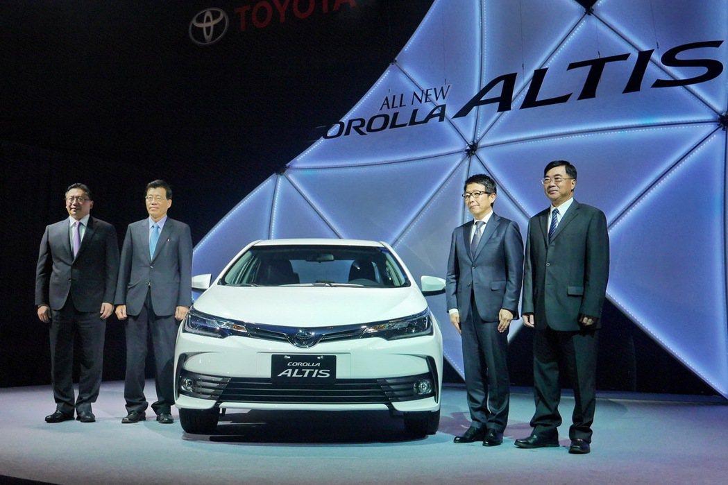台灣總代理和泰汽車在Corolla Altis迎接50周年之際,推出全新改款車型...