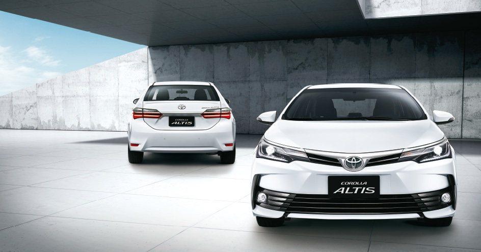 全面升級的「All New Corolla Altis」,將以嶄新的外觀及內裝設...