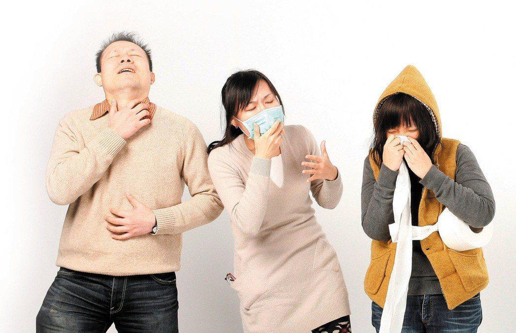 天氣轉涼,呼吸道感染病患也會增加。圖/報系資料照片