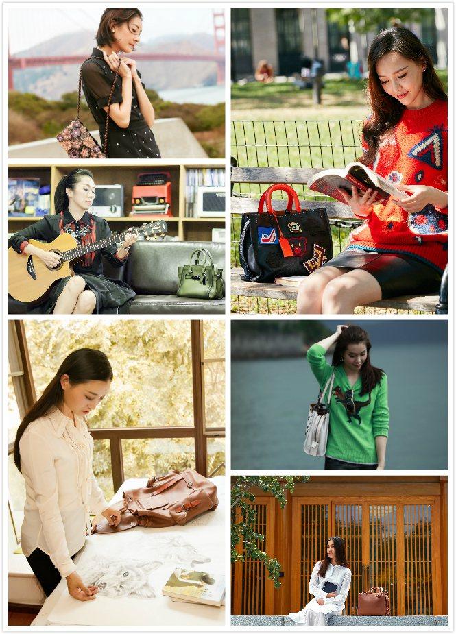 COACH之前也以六位成功女性的勵志故事,來詮釋旗下各手袋的個性。圖/COACH...