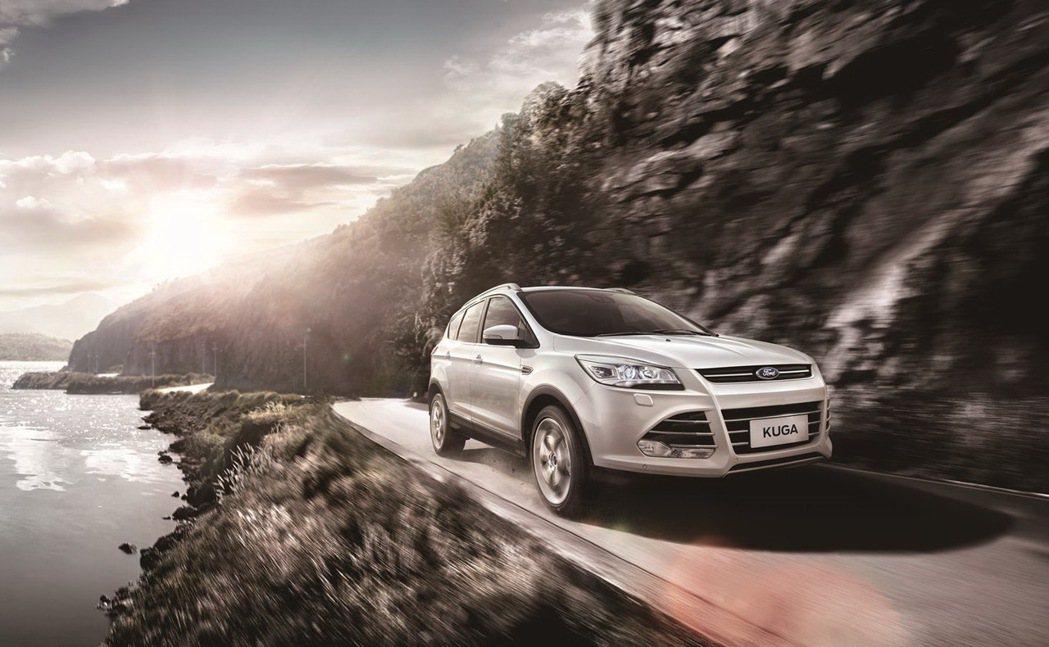 即刻入主Ford Kuga EcoBoost 180車型享80萬60期0利率;E...
