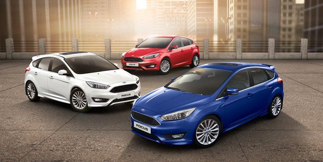 Ford Focus。 圖/福特六和提供