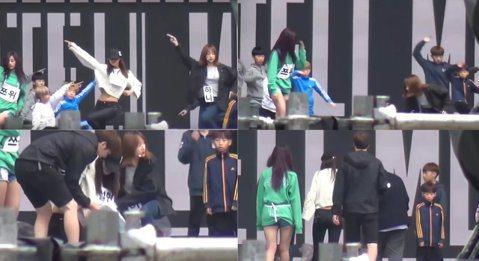 AOA的雪炫、EXID的Hani、TWICE的子瑜8月出席DMC Festival的活動,三人現場演出一連串組曲獲得好評,不過其實在演出彩排時,AOA的雪炫卻意外摔倒,一旁的Hani見狀立刻上前關切...