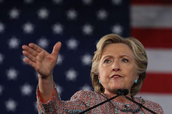 川普聲勢受挫 柯林頓領先幅度擴大至8個百分點