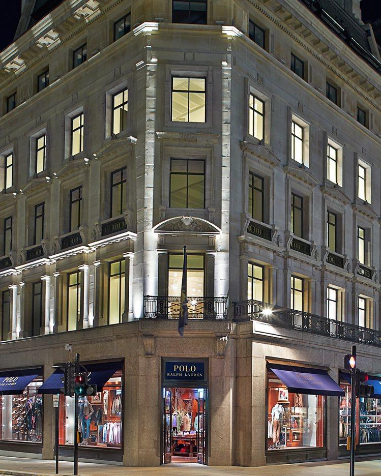Polo Ralph Lauren倫敦旗艦店外觀。圖/Polo Ralph La...