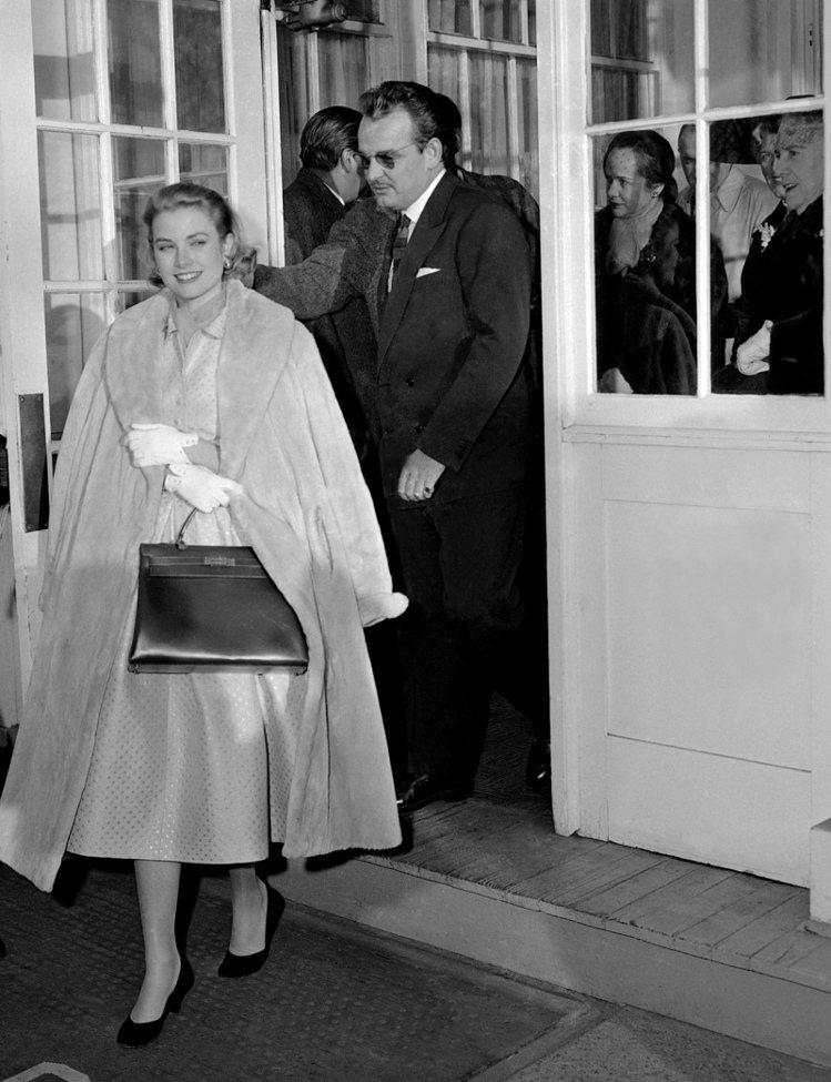 凱莉王妃懷孕時拎愛馬仕凱莉包,讓該包聲名大噪。圖/本報系資料照片