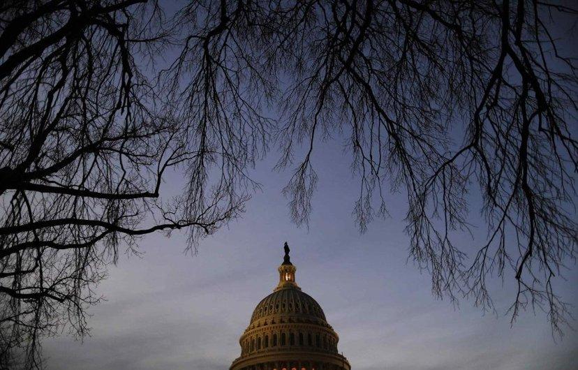 權力的可怕,在於沒有分割與制衡,因此,「野心必須用野心來制衡」。圖為美國國會大廈...