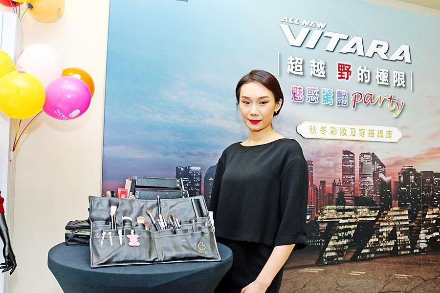 本次活動邀請M.C studio 國際彩妝造型總監 Michelle Chang...