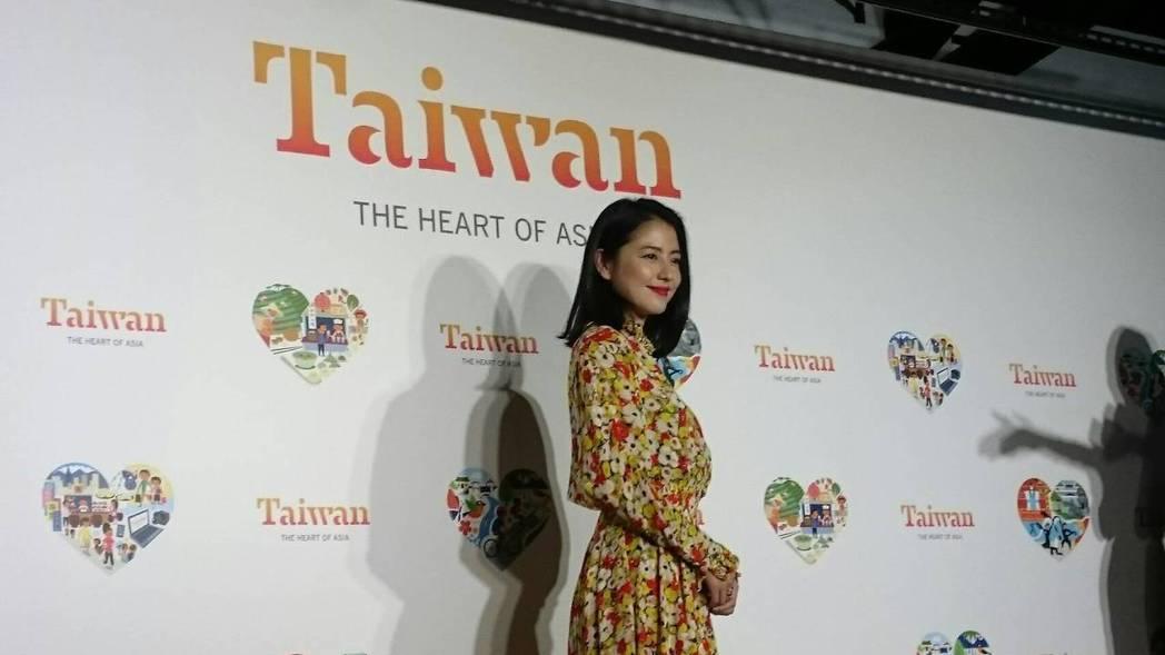 日本女星長澤雅美。記者徐子晴/攝影