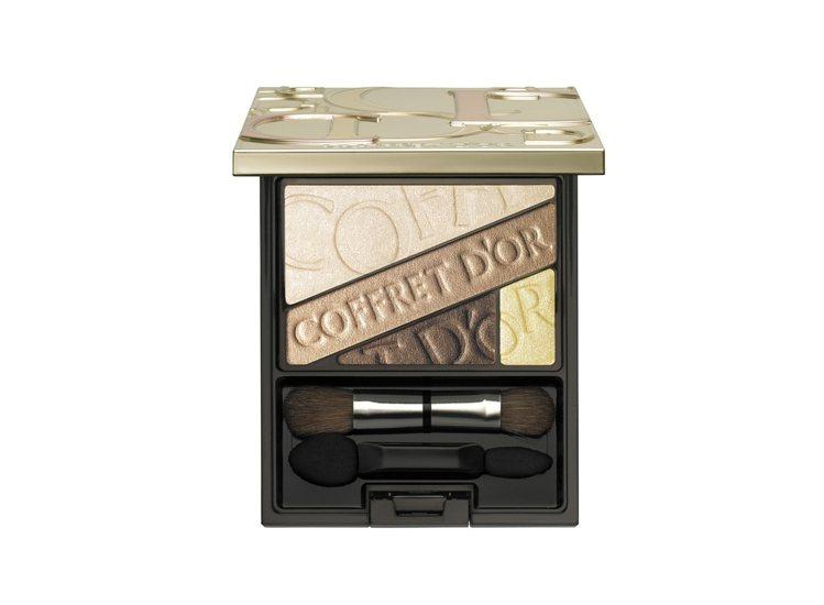 佳麗寶COFFRET D'OR光透色眼影盒,售價1,350元。圖/佳麗...