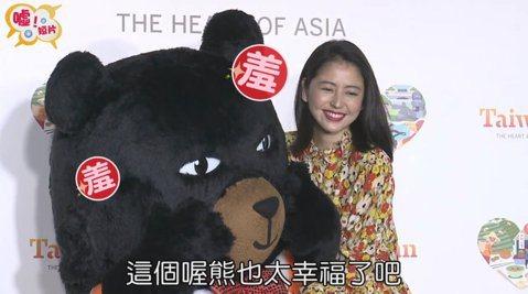 歡迎台灣觀光代言人~長澤雅美為我們呈現,什麼是真的「熊抱」!