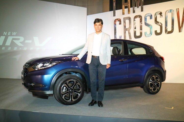 台灣本田董事長伊藤隆人表示,HONDA HR-V將成為國內小型SUV的嶄新標竿。...
