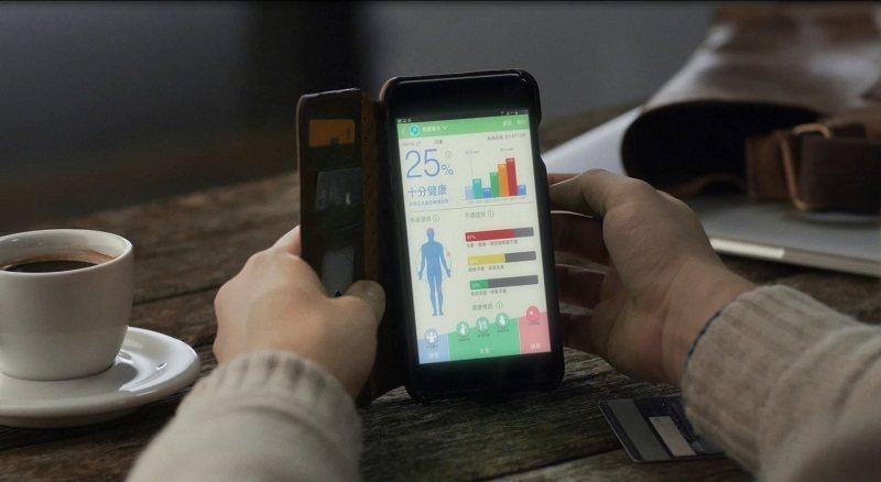 淨因科技的經絡檢測分析系統,讓使用者在手機等行動裝置看到圖像顯示,解讀輕鬆。 淨...