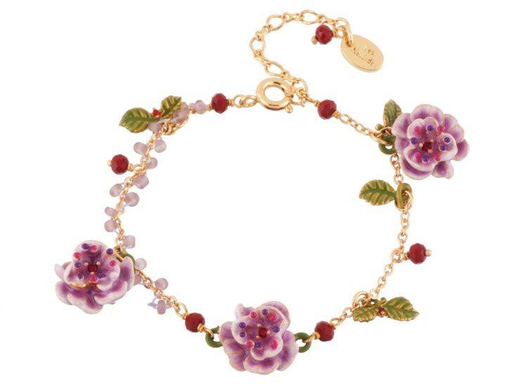 薔薇之戀手鍊,6200元。圖/Les Néréides提供