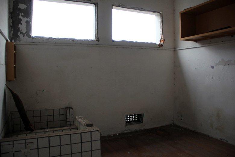 台北監獄舊的小舍房,三坪空間得收容五人。 圖/聯合報系資料照片