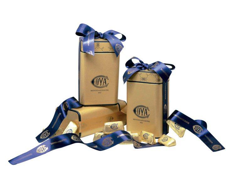 金磚巧克力。圖/COVA提供