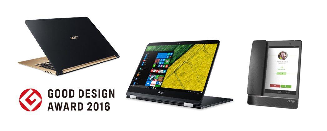 宏碁Acer Swift 7、Acer Spin 7和多媒體觸控式桌上型電話ab...