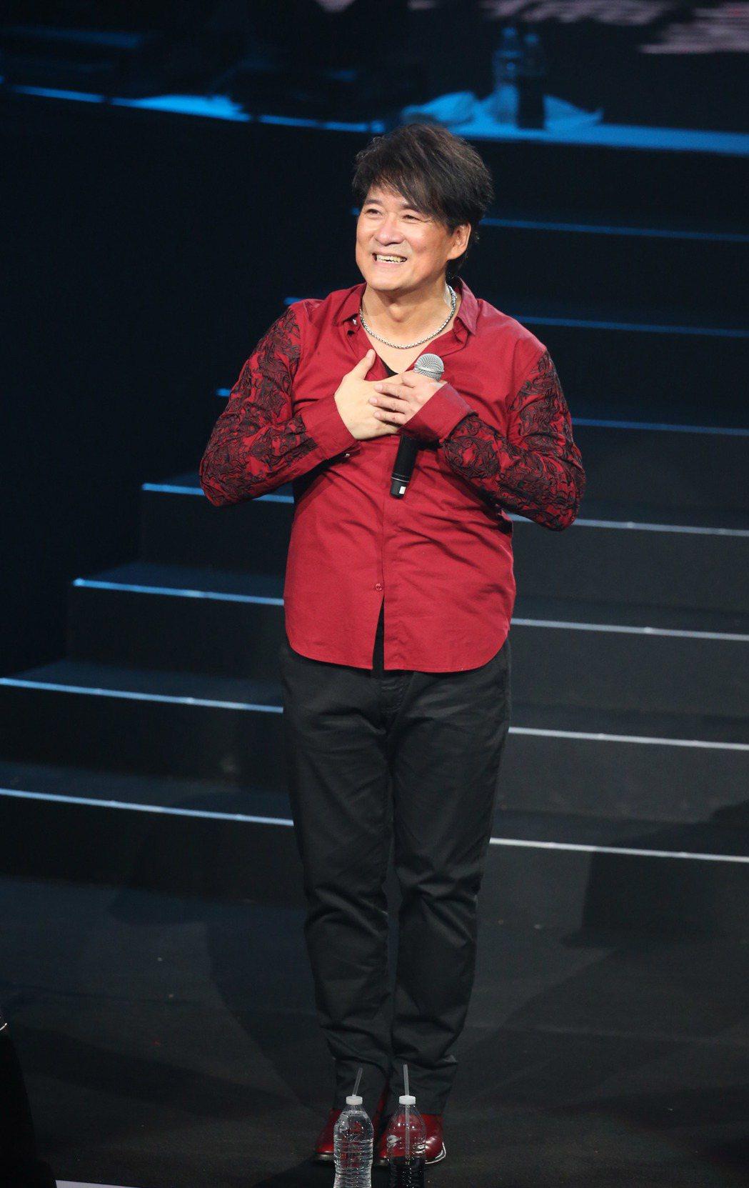 周華健在台北小巨蛋開唱。記者陳瑞源/攝影