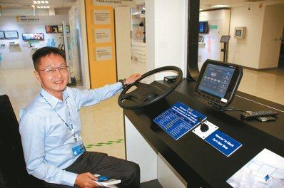 研華科技研發中心總監魏廷安。 圖/記者胡明揚 攝影