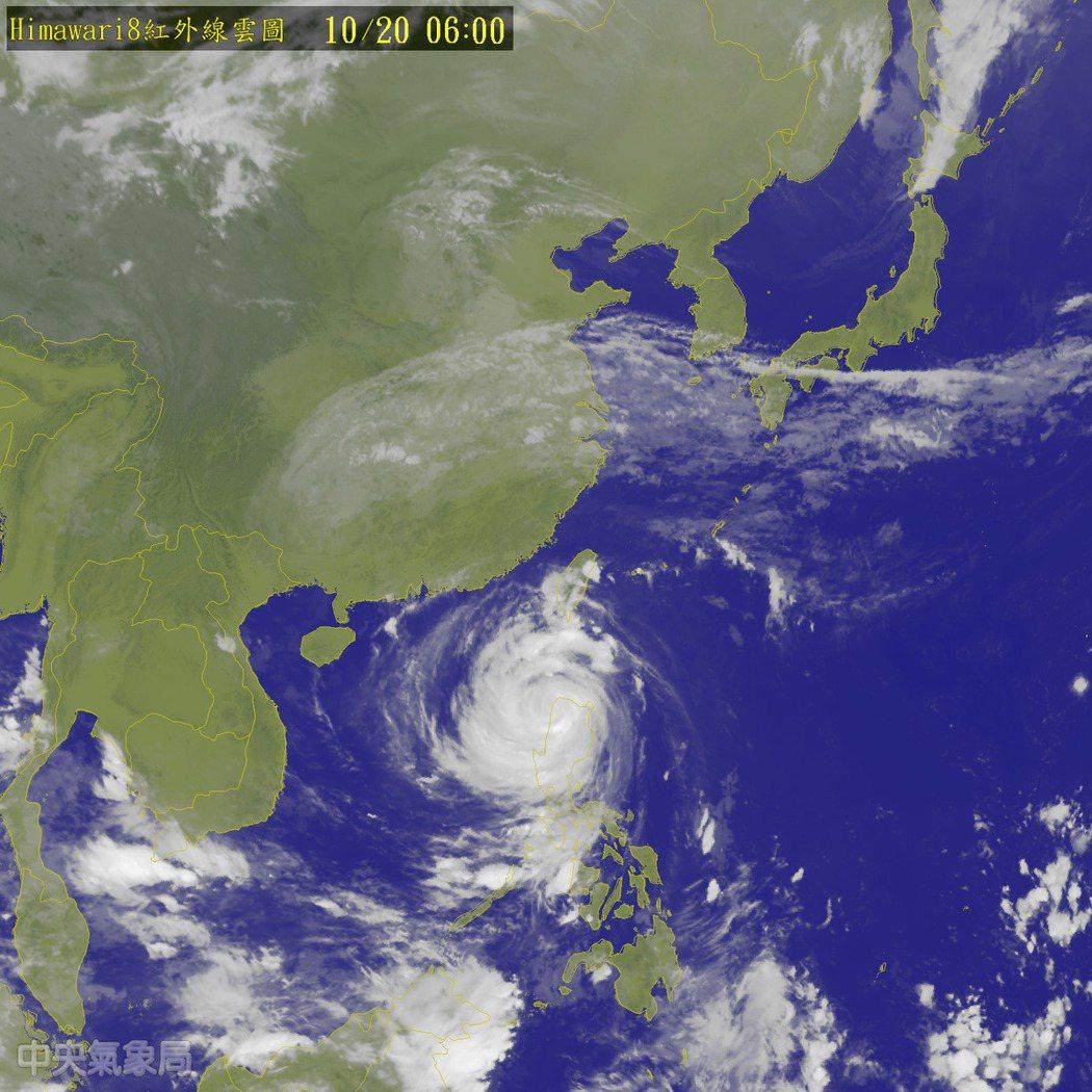 今明兩天中颱海馬外圍環流影響;今天東半部及恆春半島有陣雨,並有大雨或豪雨發生的機...