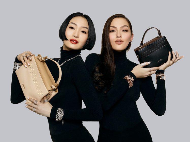 國際名模Mia Kang、August Zhan。圖/Folli Follie提...