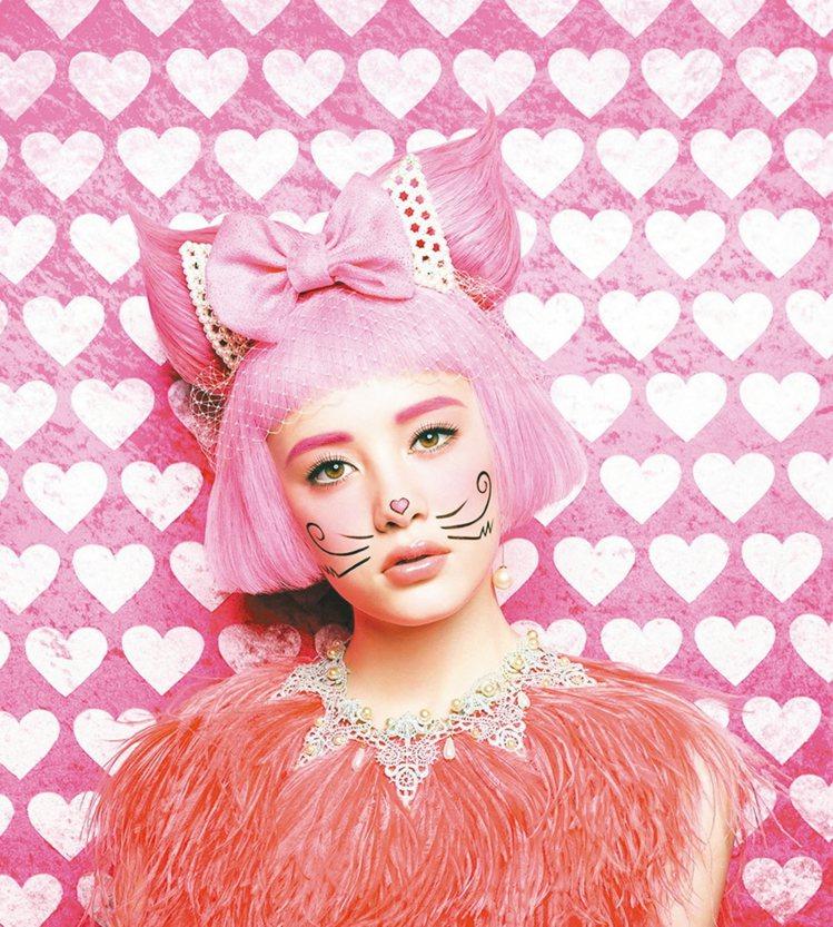 惹人疼愛的粉紅甜美貓。  圖/業者提供