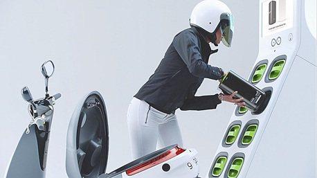 智慧防盜設計 gogoro電動機車失竊率低